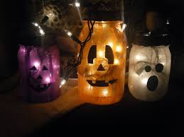 Mason Jar Halloween Lantern Diy This Brunette Loves Coffee