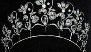 tiara collection the westminster tiara collection the chamuet kokoshnik with blue