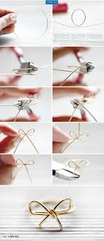 simple wire rings images My diy wire bow ring jpg