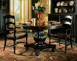 indigo creek pedestal dining table by hooker michael alan