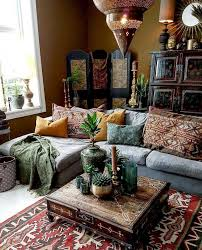 44 bohemian decorating ideas for cozy and bohemian living room design ideas 44