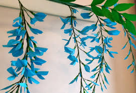 how to make paper flower wisteria flower 71 youtube