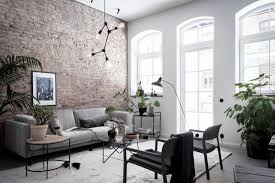 exclusive home with an exposed brick wall coco lapine designcoco