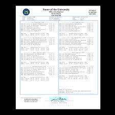 10 fake transcripts collection for free download