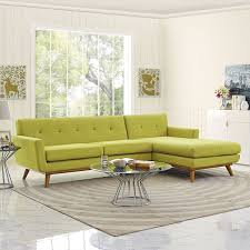 Green Sectional Sofa Modway Furniture Engage Eei 1795 4 Green Sectional Sofa Chaise