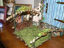 fairy bed handmade enchanted emerald and gold fairy bed by enchanted fairy