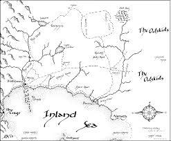 Rowan Map Map Map Of Rowan U0027s World Rosemary Kirstein