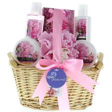 bath gift baskets spa gift sets for women gift sets for care peony