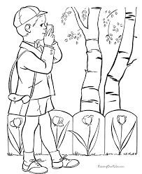 easter coloring pages kid 001
