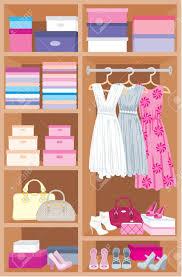 wardrobe room furniture royalty free cliparts vectors and stock
