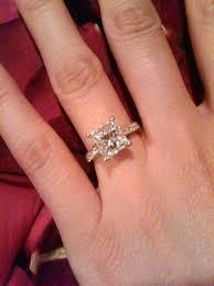 2ct engagement rings 2 carat princess cut diamond ring s 2 carat princess cut diamond