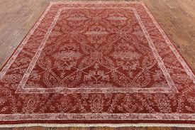 Silk Oriental Rugs Wool U0026 Silk Oriental Rug 8 X 10 H9269