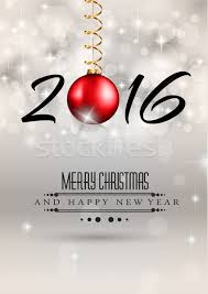 Happy New Year Invitation 2016 Merry Chrstmas And Happy New Year Background For Your Dinner