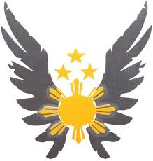 mabuti eagle wings with 3 and sun logo car sticker price