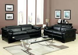 leather sofa 3 piece bonded leather sectional reclining nail