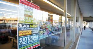 as black friday shopping trends downward oklahoma cities