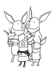 olivia pig coloring pages coloring