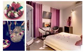 une nuit en amoureux avec dans la chambre nuit romantique hotel romantique toulouse st valentin