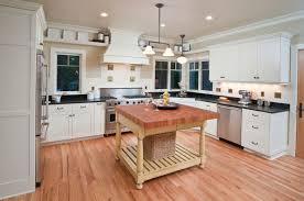 Kitchen Island Wall Kitchen White Washed Kitchen Island With Dark Granite Countertop
