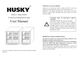 130l husky bar fridge huscnsil user manual