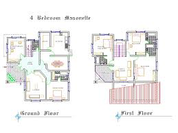 4 Bedroom Bungalow Floor Plans bedroom bungalow house design 4 bedroom bungalow plan in nigeria