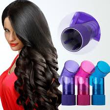 Hair Dryer Volume magic hair rollers hair dryer curler diffuser curl hair styling
