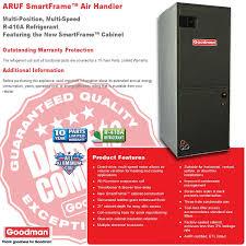 2 0 ton goodman 14 seer r 410a central heat pump system gsz140241