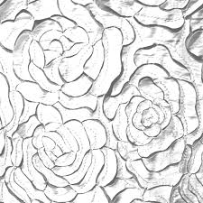 jn00287 bridal white 2 layer satin laser cut rose flowers soft