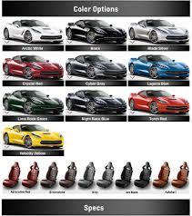 2014 corvette colors chevrolet corvette stingray colors the car present