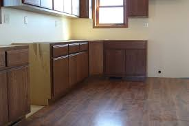 Flat Front Kitchen Cabinets Home Decor Medium Stained Oak Kitchen Cabinets Mahaska Custom