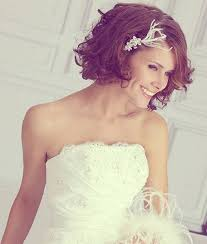 wedding hairstyles short curly hair wedding party decoration