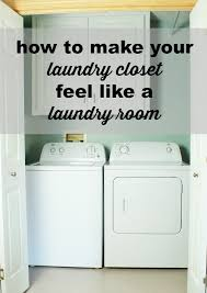 how to make your laundry closet feel like a laundry room hometalk