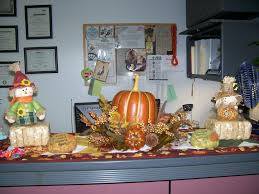 fall thanksgiving office decorations