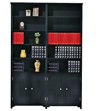 cherry wood corner bookcase bookcases home office furniture the home depot