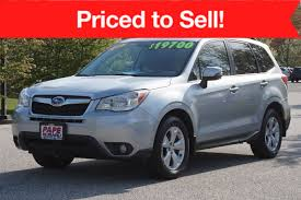 used 2014 subaru forester for sale south portland maine area