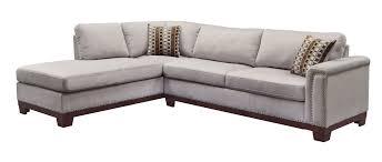 velvet sectional sofa mason contemporary grey wood and velvet sectional living rooms