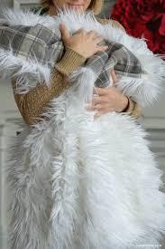 Fox Fur Blanket Faux Fur Throw Blanket Lia Griffith