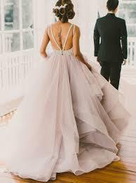 buy a line crew court train organza lace grey open back wedding