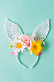 Diy Easter Decorations Last Minute by Diy Floral Bunny Ears For Your Maids Or Flower Gals Spring