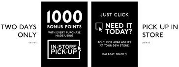 dsw black friday sale dsw free 20 reward certificate w any 3 in store pickup orders