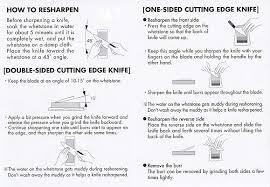 sharpening your shun knives