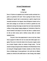 dance essay   Rich Template Rich Template   Dk Consulting