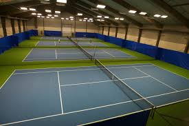 the indoor courts at angus glen tennis centre in markham angus