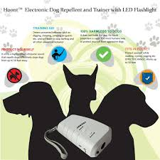 amazon com hoont electronic handheld dog repellent and trainer