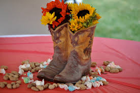 Western Style Centerpieces by Cowboy Birthday Party Ideas Events To Celebrate