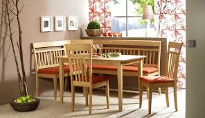 dining room table with corner bench home design
