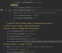 android layout collapsemode 快速实现android的协同布局coordinatorlayout 简书
