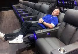 flagship cinemas gets luxury look with reclining chairs bar by