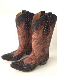womens cowboy boots in size 11 ariat josie lacer womens cowboy boots bootie shoes size sz 8 brown