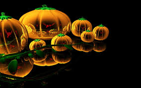 scary pumpkin wallpapers abstract glass pumpkins hd halloween wallpaper